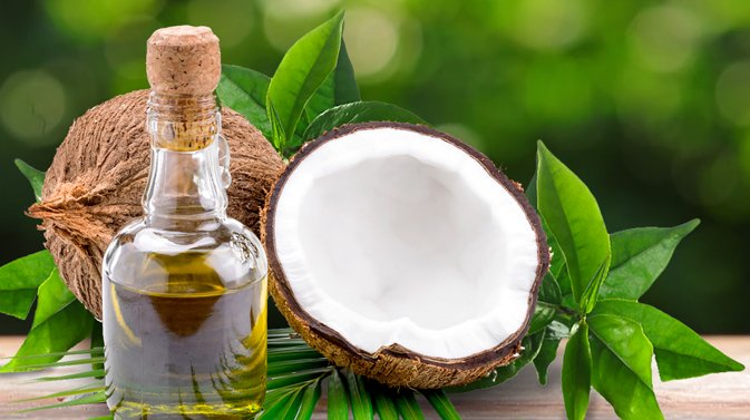 Tea Tree Oil and Coconut Oil